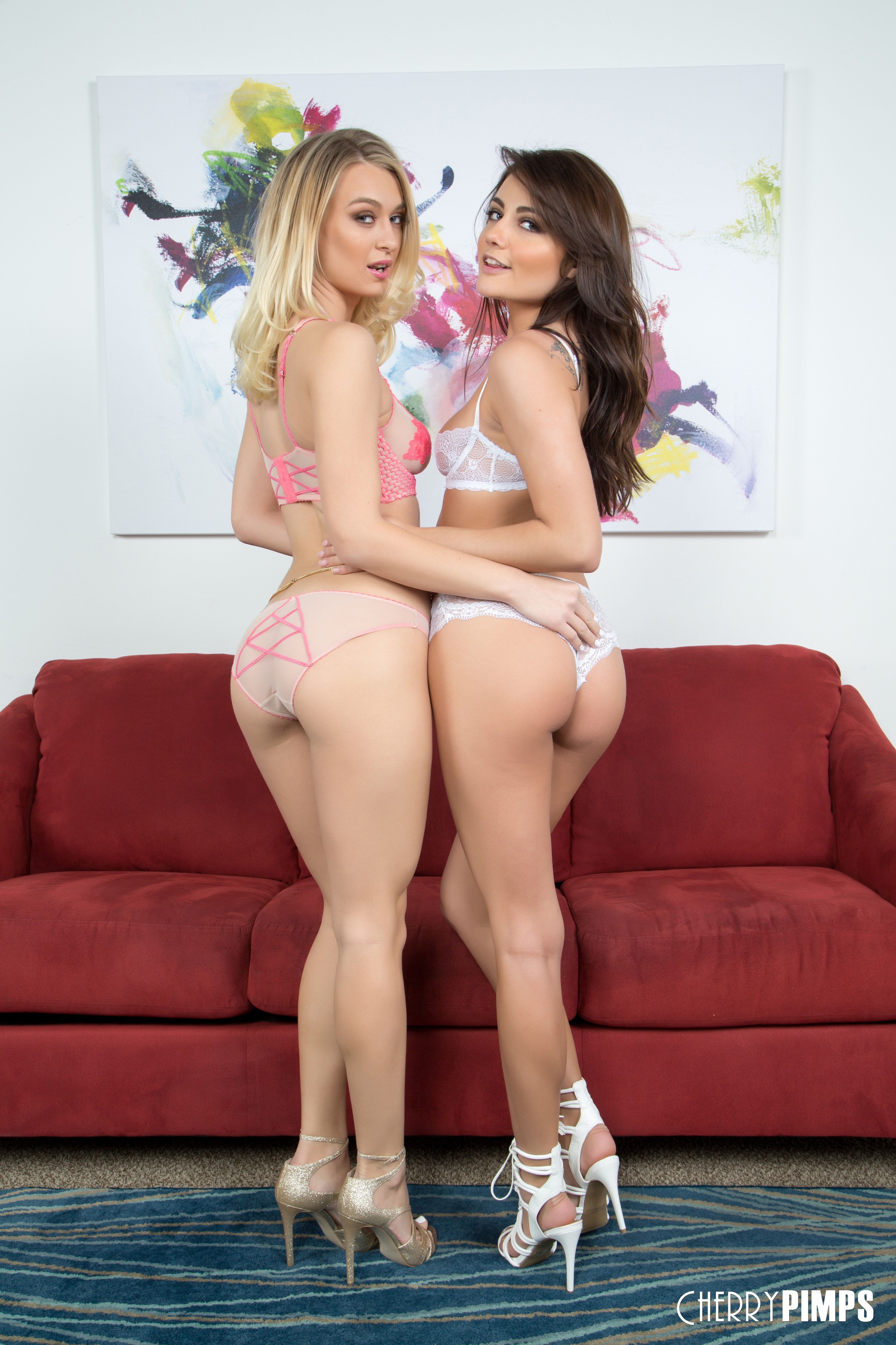 Cherry Pimps 'Smiling Hot Duo' starring Adria Rae (photo 41)
