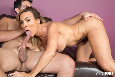 Cherry Pimps 'Banging Hot MILF Aubrey' starring Aubrey Black (Photo 12)