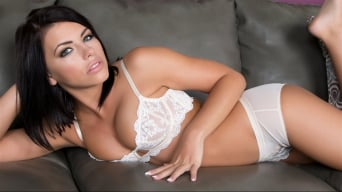 Adriana Chechik in 'Adriana's Lacy White Lingerie'