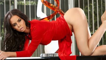 Brandy Aniston in 'Hot Lady In Red'