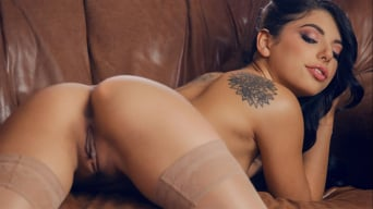 Gina Valentina in 'Stunning In Nude Stockings'